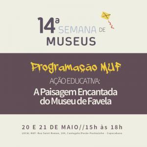 MUF na 14ª Semana de Museus