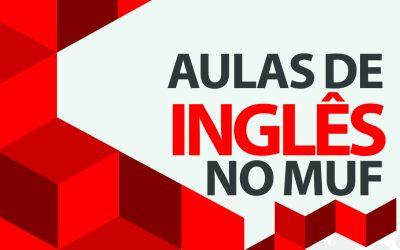 Aulas de Inglês no MUF