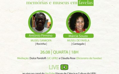 Museu de Favela participa da série Favela, Pandemias e Cidadania.
